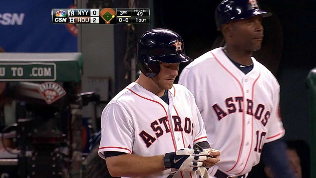 Porter happy with Astros' approach at the plate
