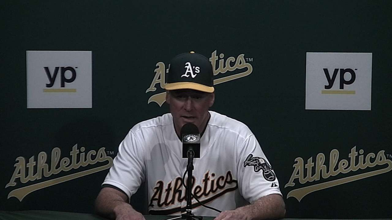 A's remain confident in Johnson