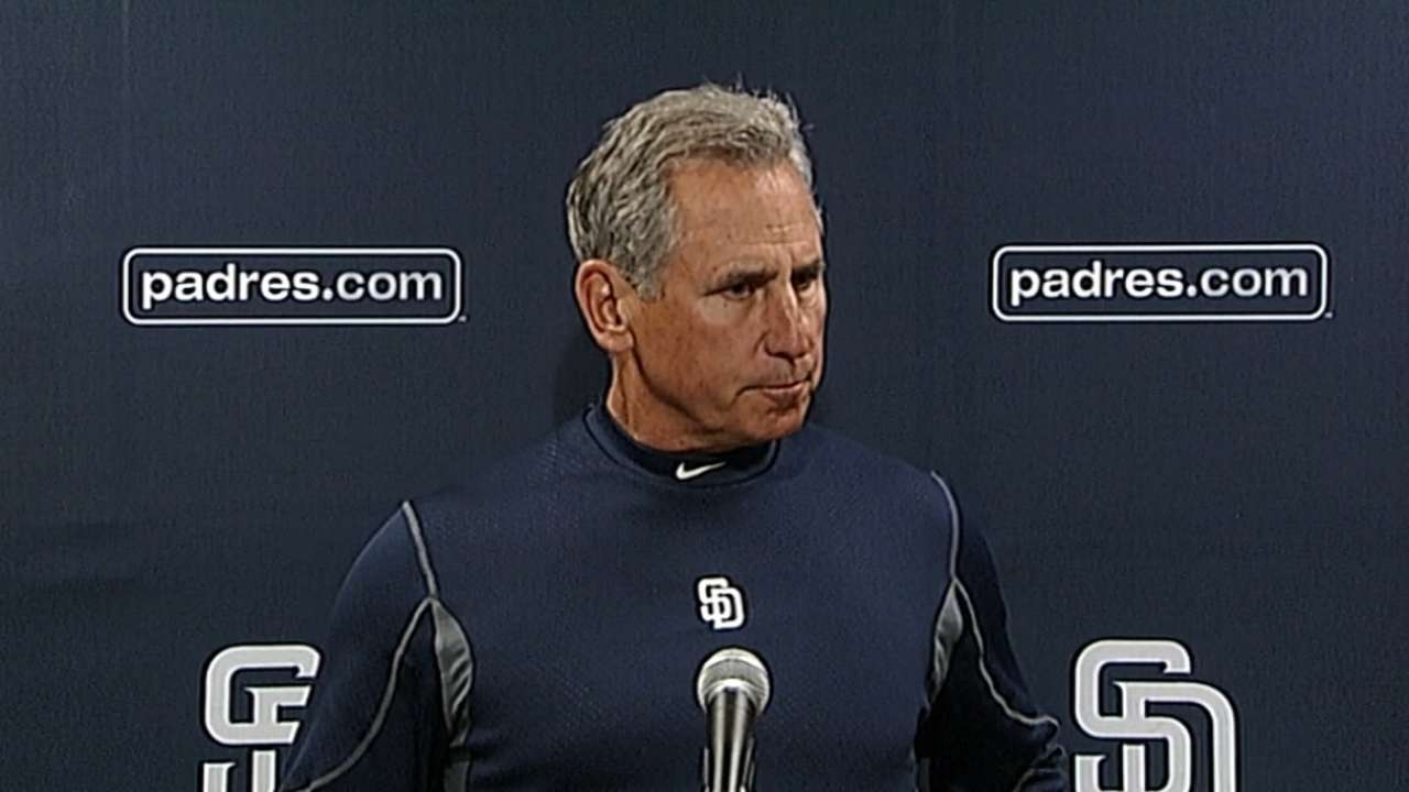 Ross pushed back a day in Padres' rotation