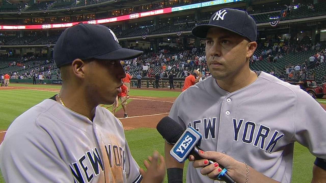Beltrán ha asumido un rol de líder en los Yankees