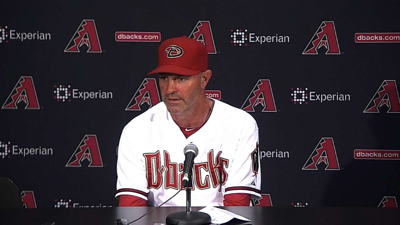 Positive D-backs not panicking over slow start