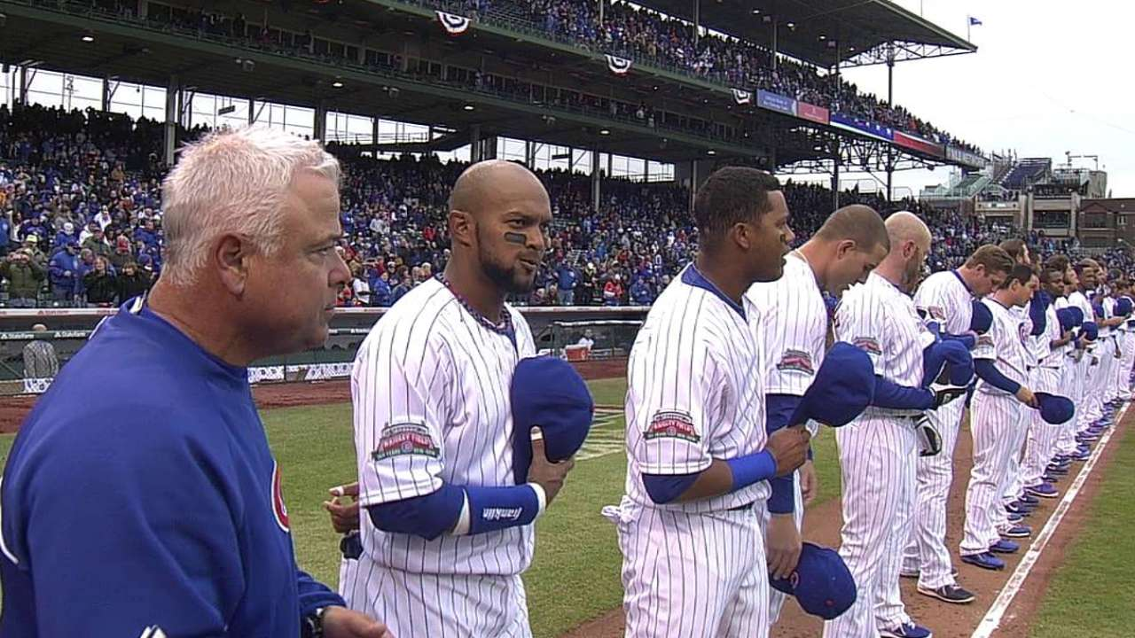 For Cubs, patience and positivity are key