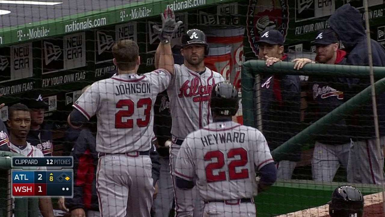 Braves' tight victory a fitting opener vs. rival Nats