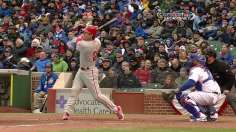 Utley helps Phillies spoil the party at Wrigley