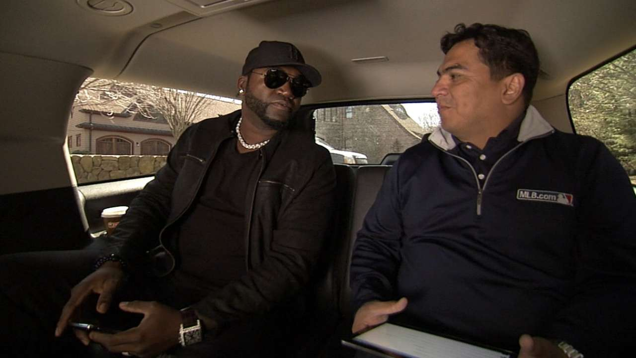Big Papi takes fans behind scenes via @MLB
