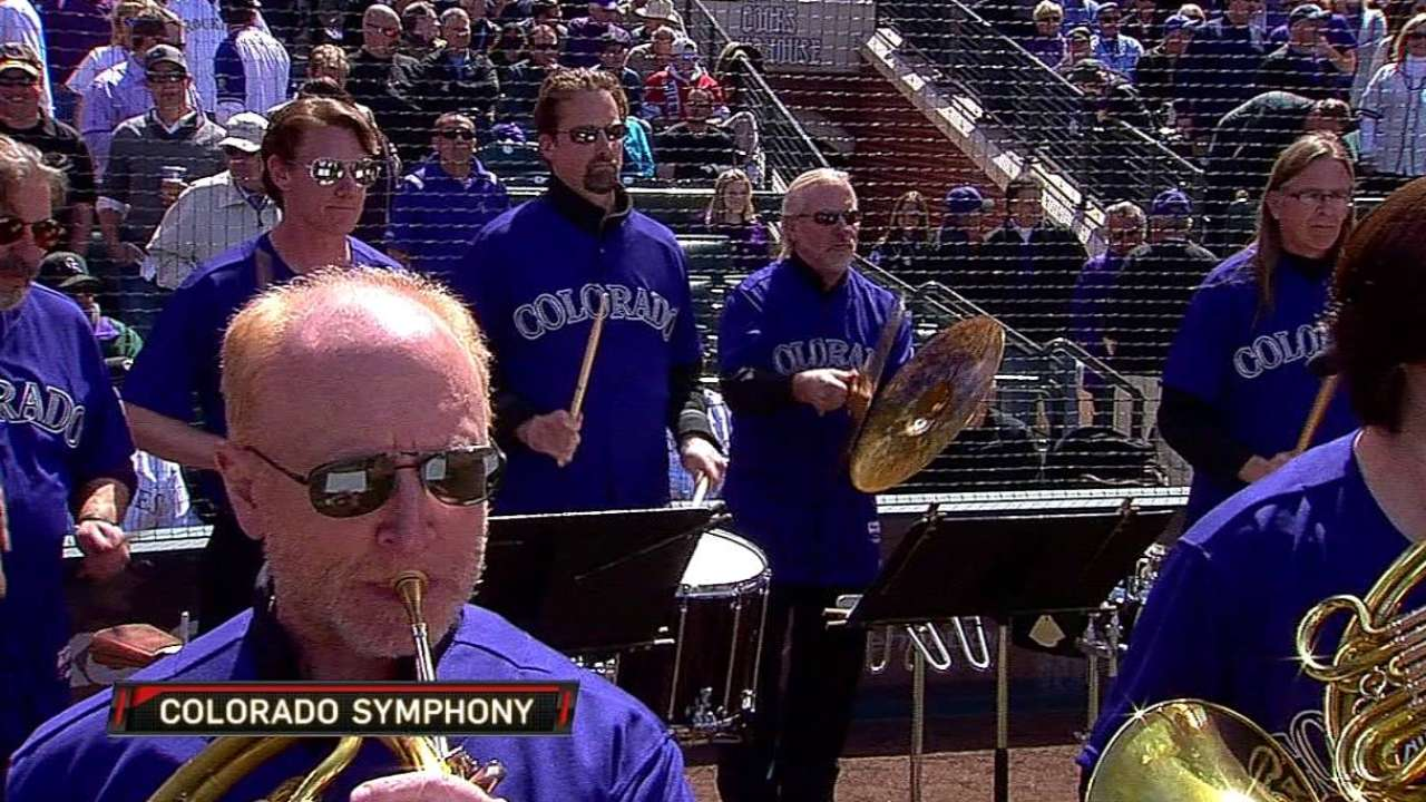 Colorado Symphony Orchestra welcomes Rox to field