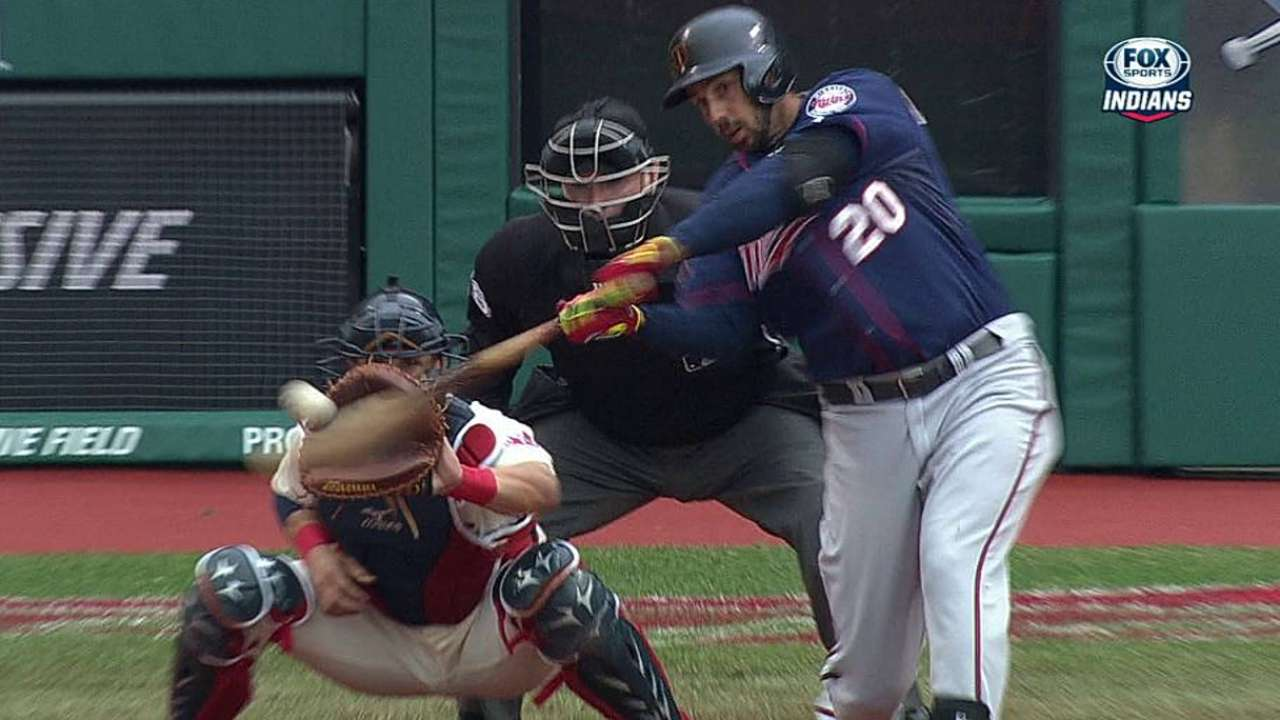 Twins' quick start fades in Cleveland