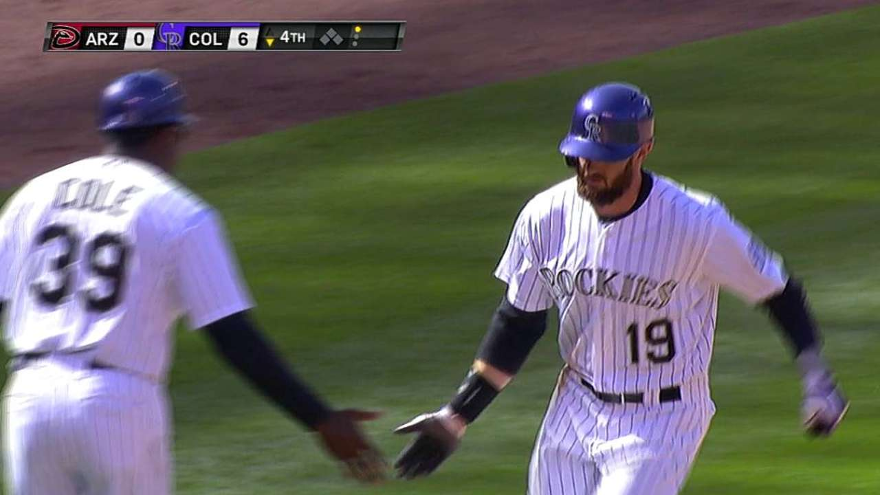 Blackmon starts again, but Weiss to rotate outfielders