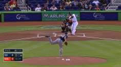 Stanton's epic homer paces Marlins' potent offense