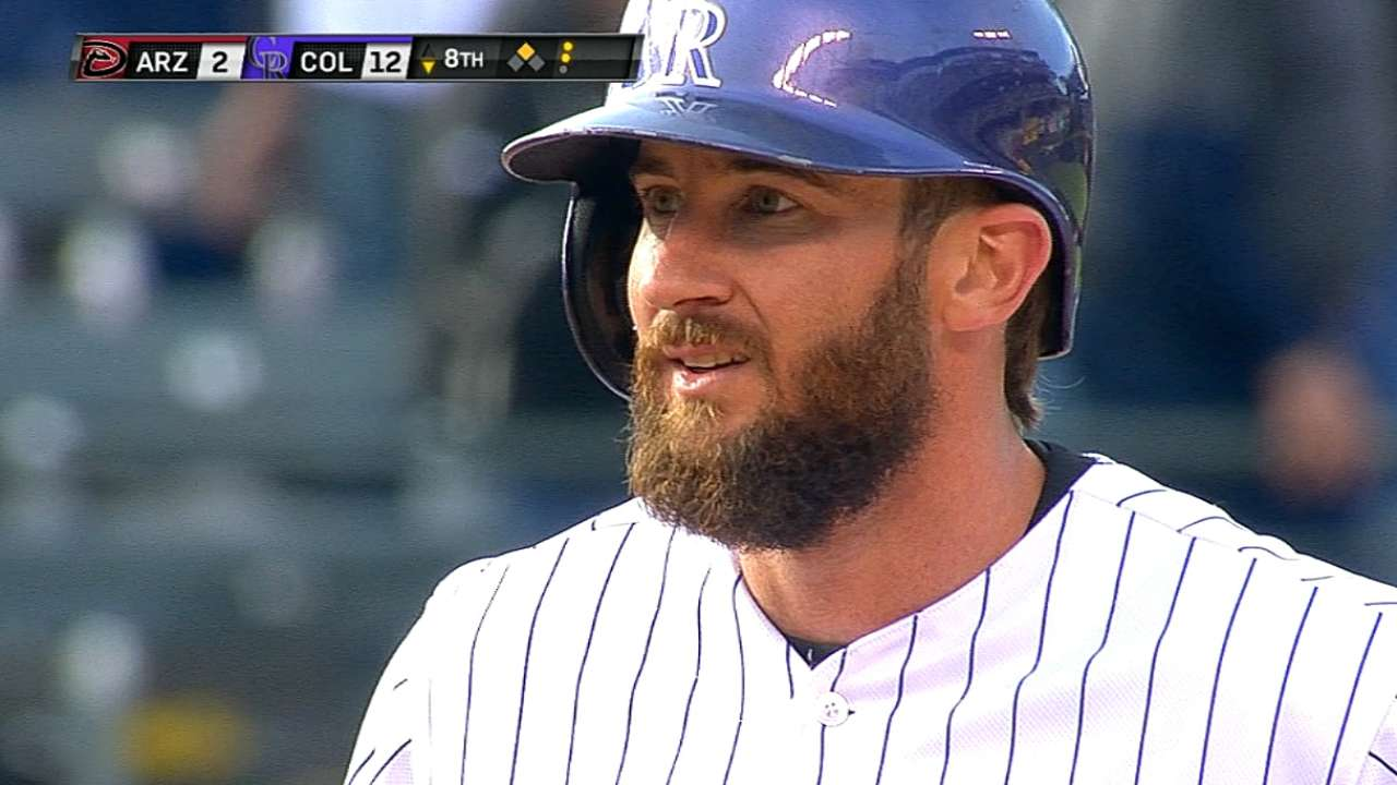 Blackmon goes from bubble to historic six-hit day