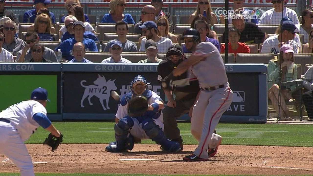 Bochy playing it safe with Morse's playing time