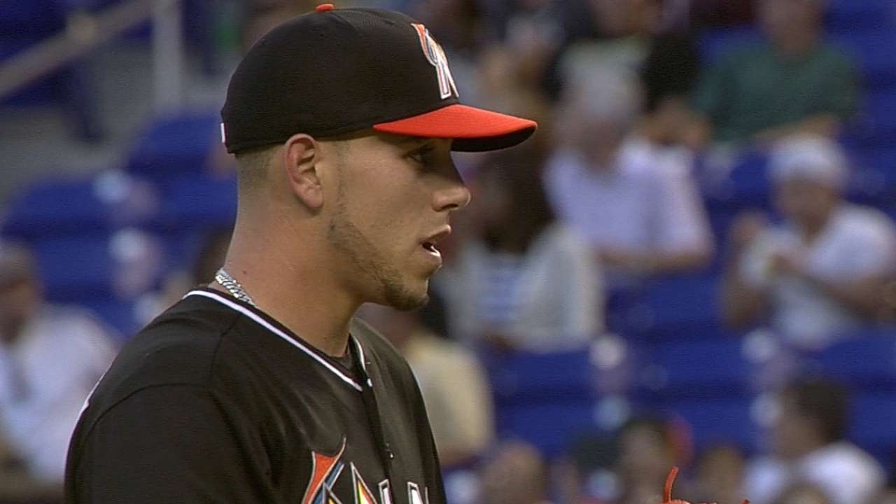 Three up, three down: Marlins open strong