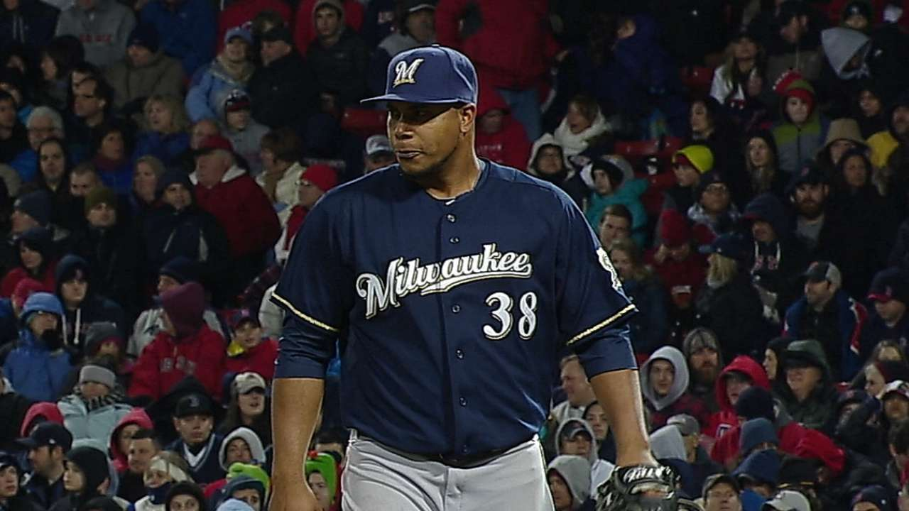 Brewers breeze through first turn in rotation