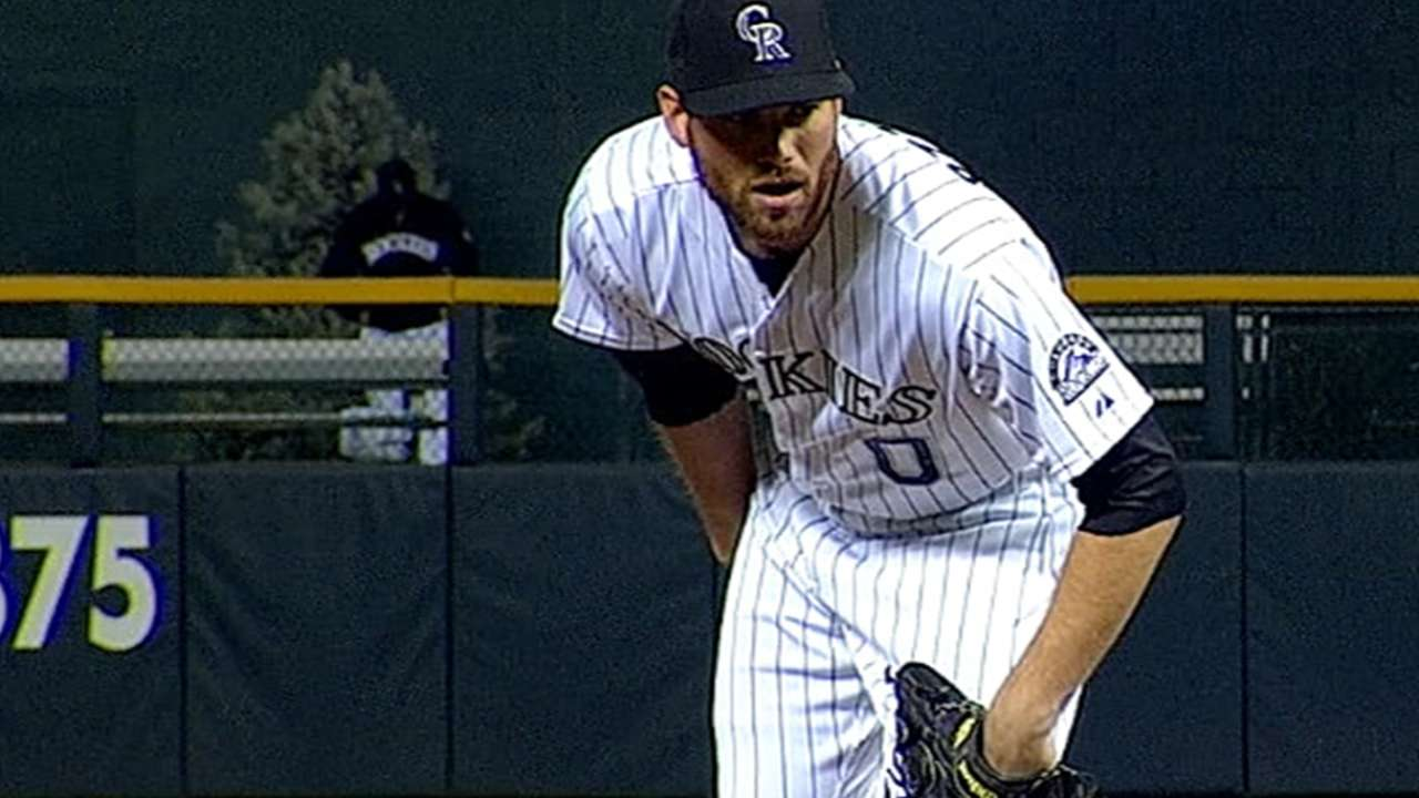 Ottavino thriving in high-pressure situations