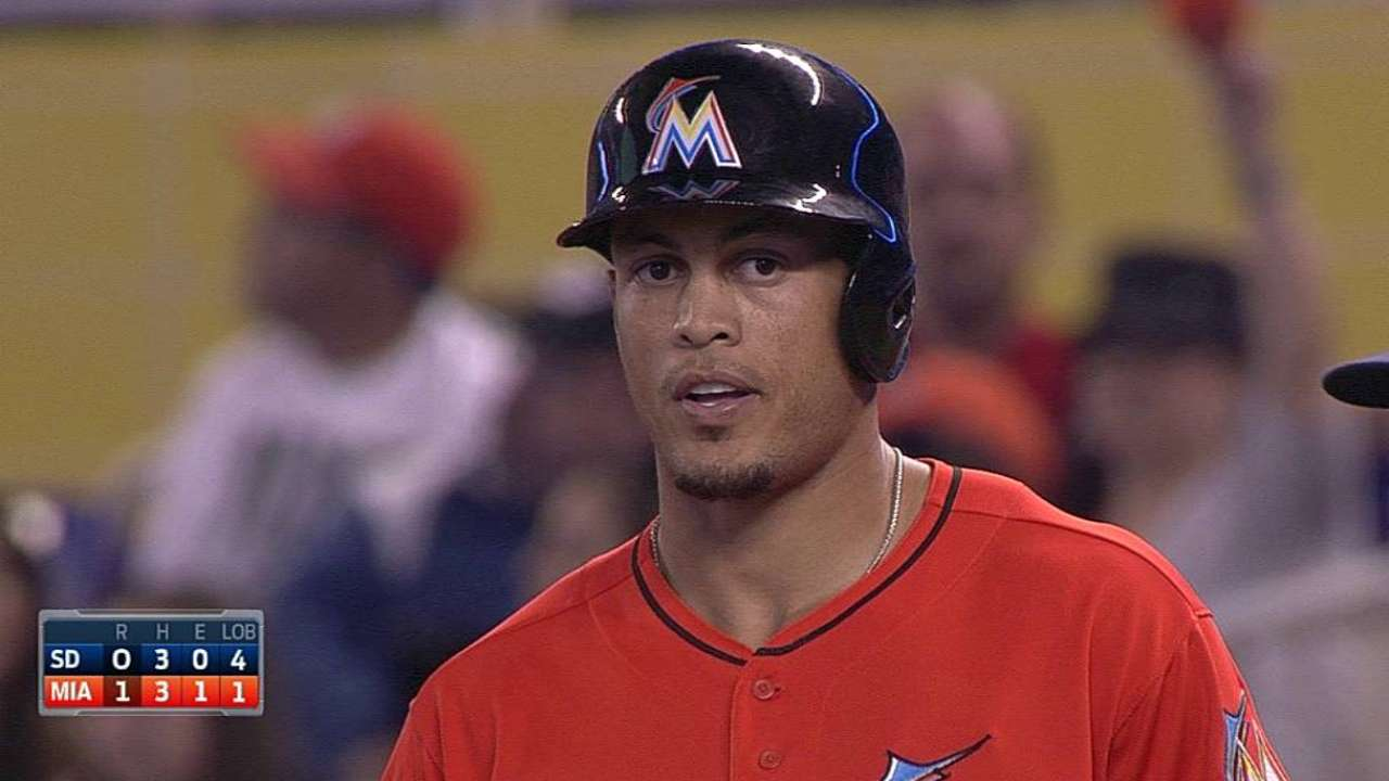 MLB Notebook: Giancarlo churning out RBIs
