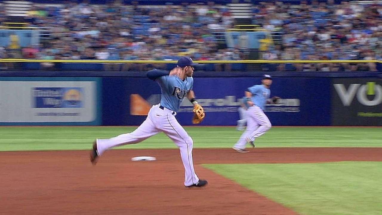 Ataque de Rays sin respuestas ante Darvish, Rangers