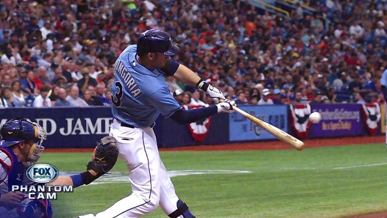 Despite hitting woes, Rays not hitting panic button