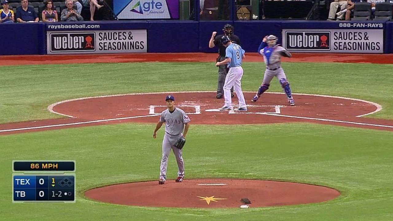 Darvish impone marca de ponches en las Mayores