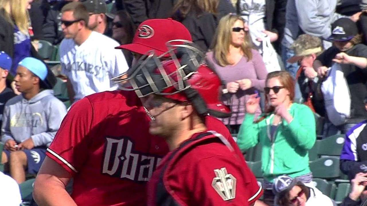 D-backs being careful with Reed's workload