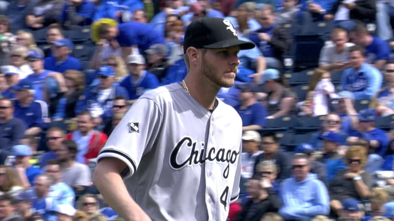 White Sox Sale on to victory against Royals
