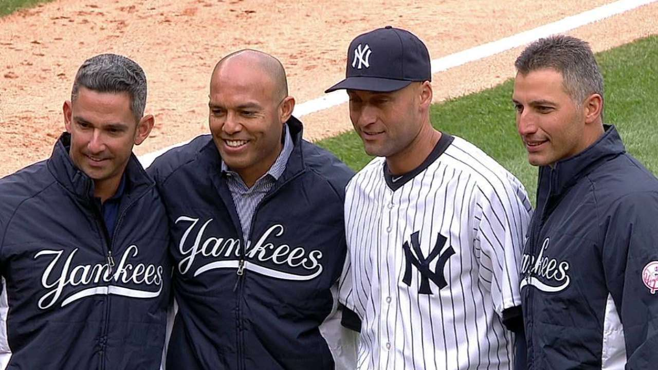 Even to 'Core' pals, Jeter worth celebrating