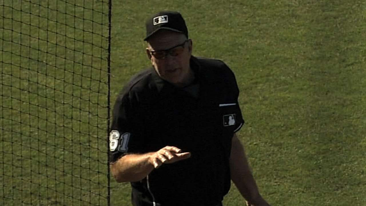 Yost gets chance to go over replay procedure