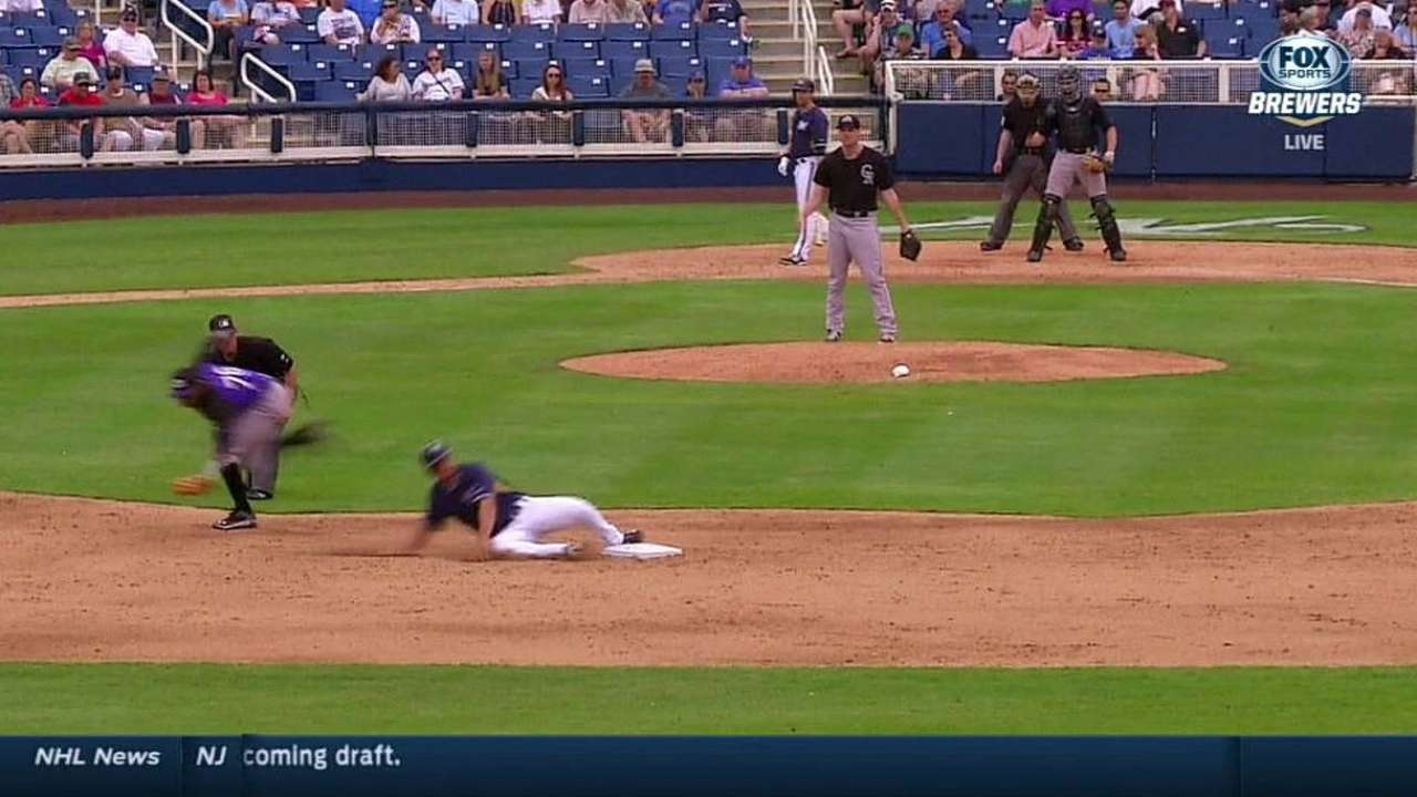 Replay confirms Schafer safe on steal of second