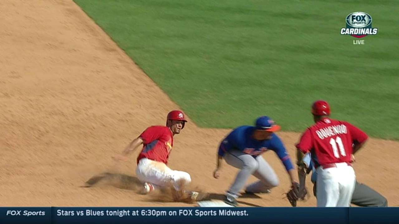 Matheny challenges, but call stands