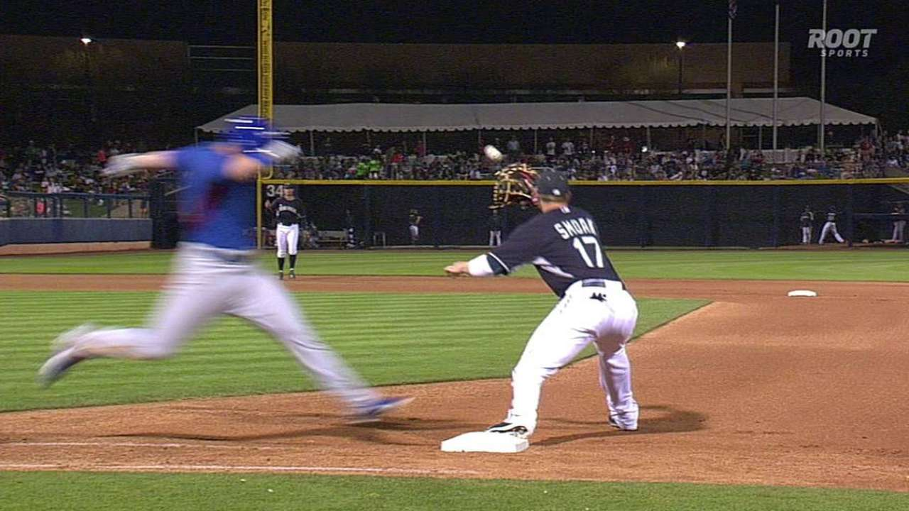 Cubs challenge call vs. Mariners, but it stands