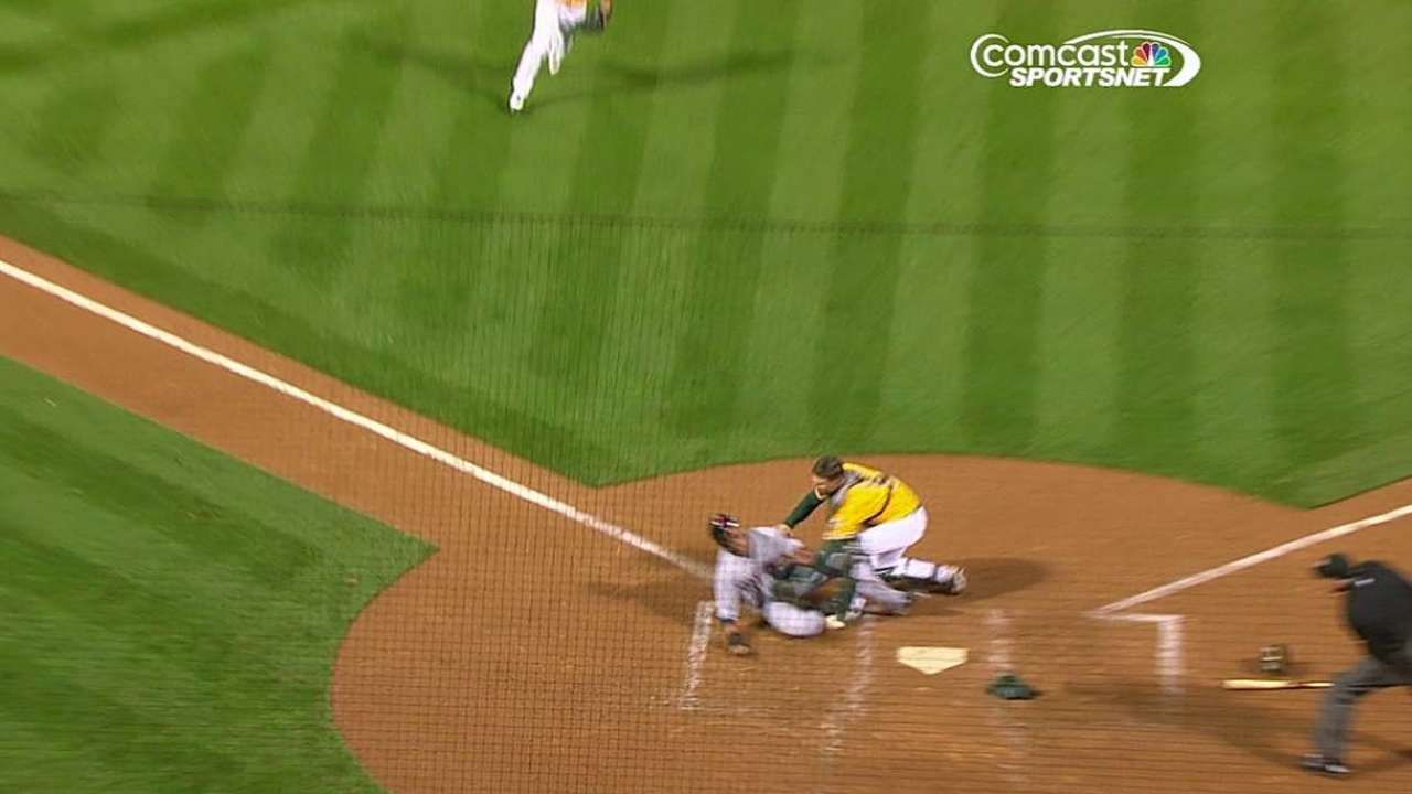 New rules converge in reviewed play at plate