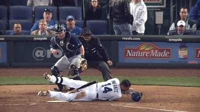 Infante's injury thins infield roster depth