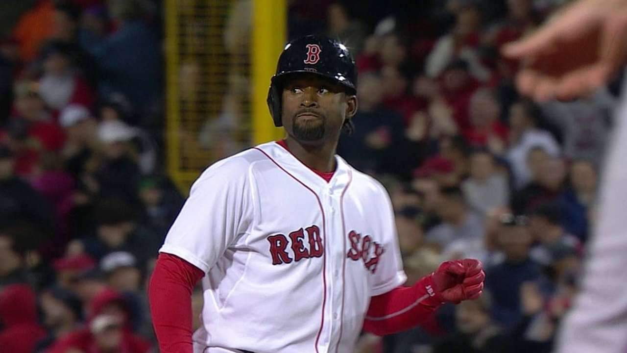 Red Sox doubled over in loss to Rangers