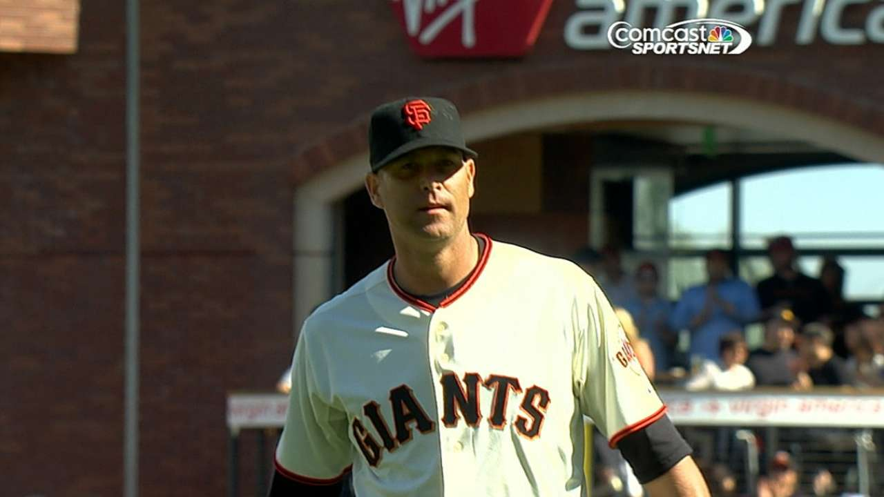 Giants pitchers being stingy with free passes