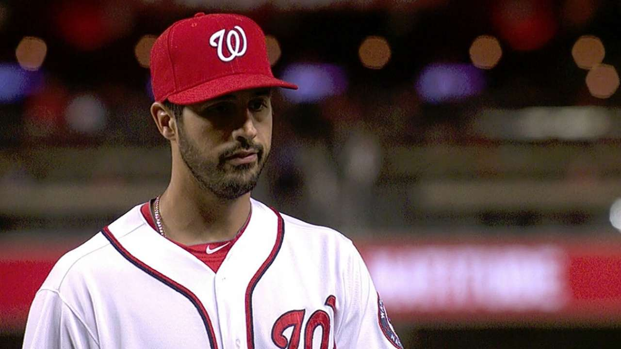 Gio sharp again as Nationals blank Marlins