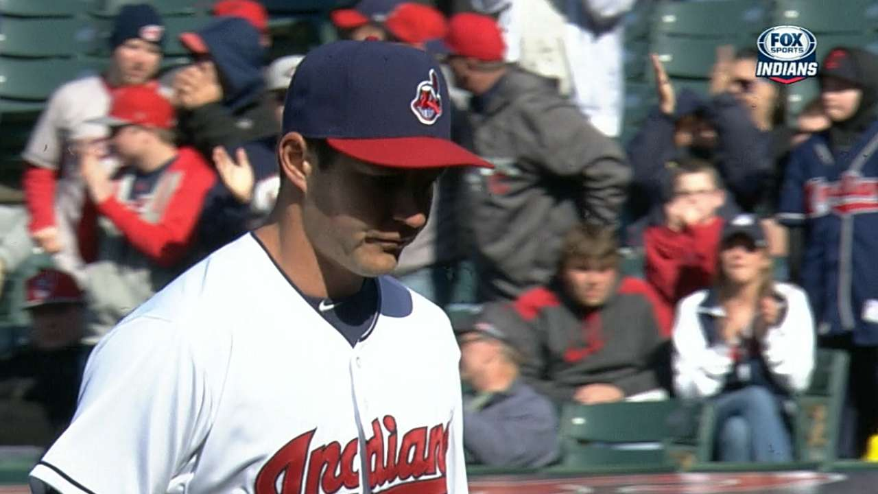 Tribe activates Giambi, recalls Bauer