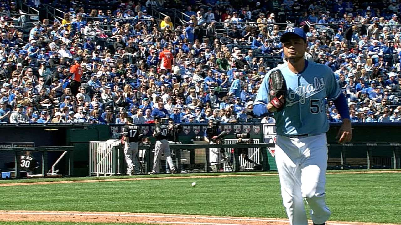Royals' Chen feels 'really good' after simulated game