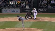 White Sox end Tribe slide behind Abreu