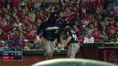 Brewers complete sweep of Phils for sixth straight
