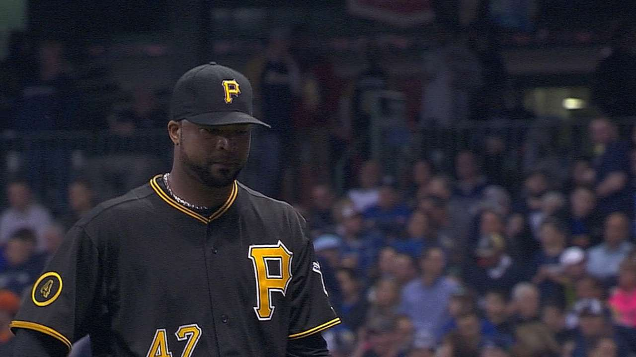 Liriano's April woes keep up amid frigid weather