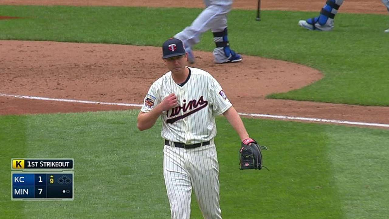 Twins seek consistency from Tonkin