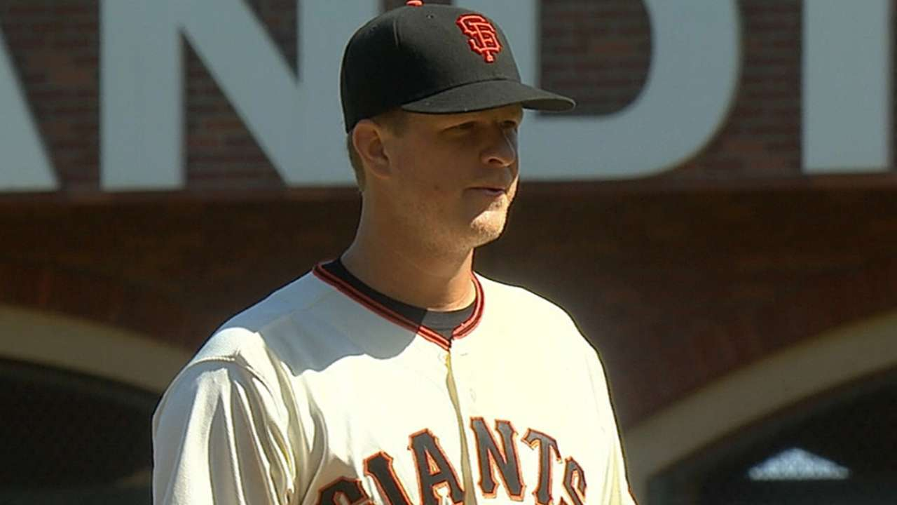 Cain's return leaves Giants with roster decision