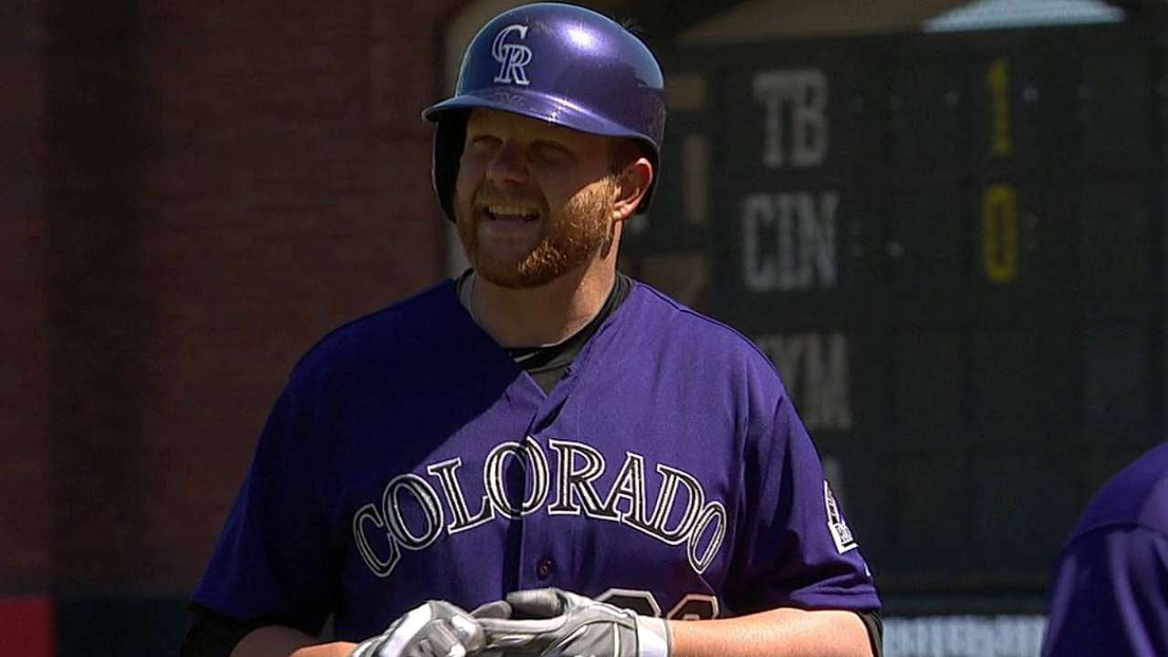 Rockies activate Anderson, option Parker