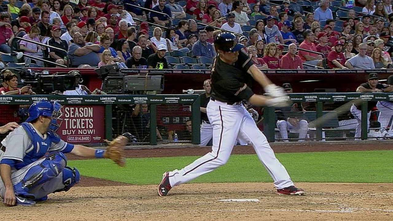 Sore neck keeps Pollock out of D-backs' lineup