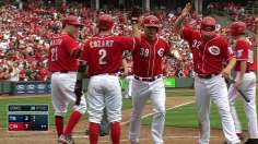 Reds' bats come alive for win in series finale