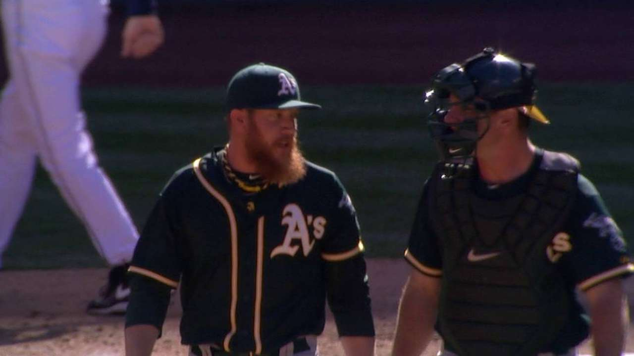 A's, Doolittle agree to five-year contract