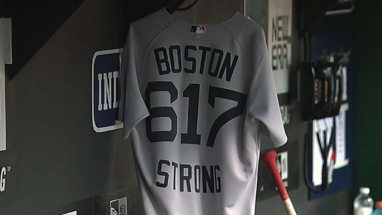 'Sweet Caroline' played across MLB in tribute to Boston