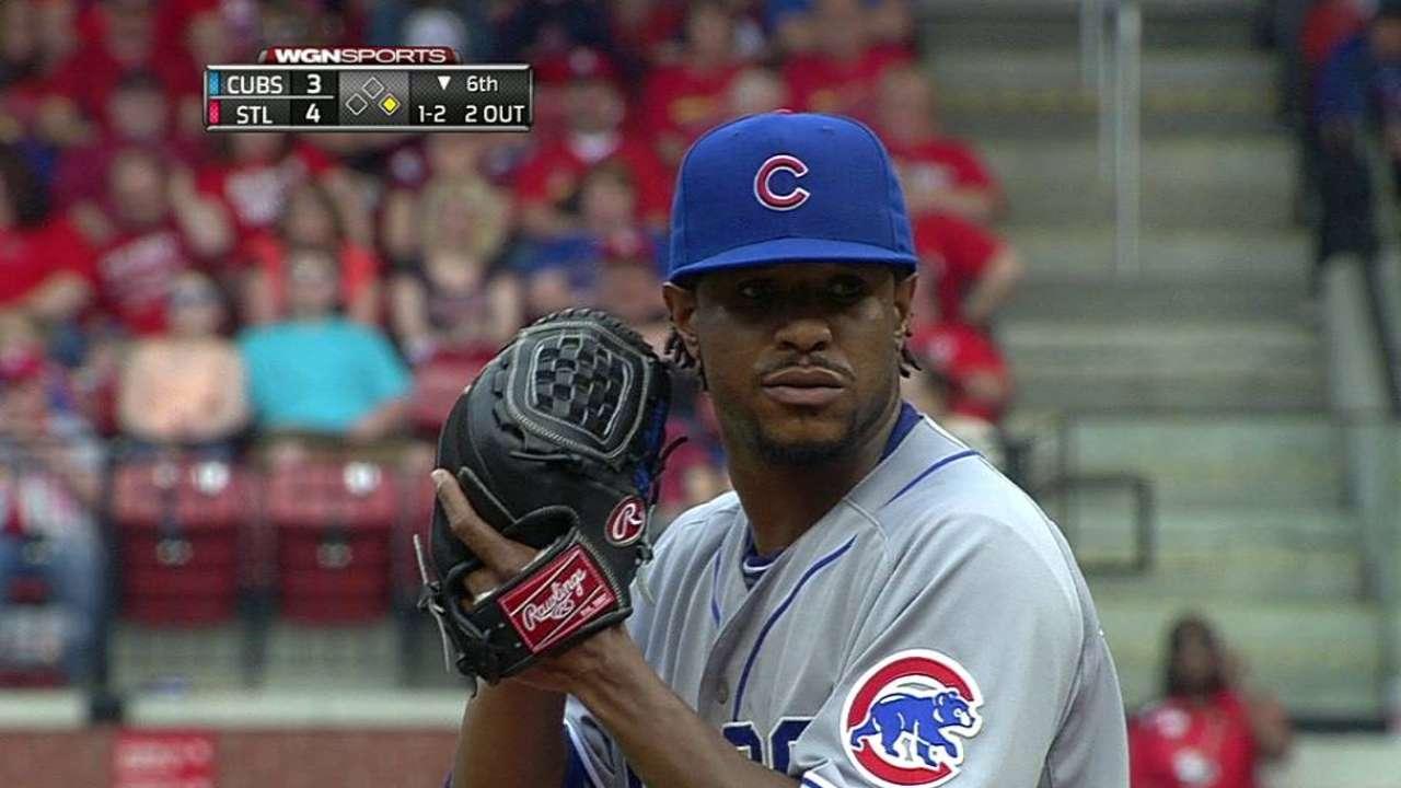 Cubs flip Jackson, Villanueva for Reds series