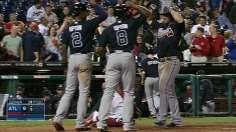 Uggla's grand slam caps five-homer night for Braves