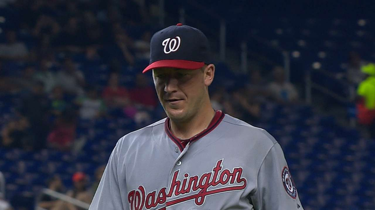 Nationals not worried about rotation's slow start