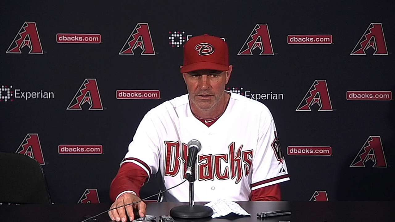 Gibson trying to move past D-backs' losses